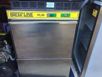 Breakline Undercounter Commercial Glasswasher
