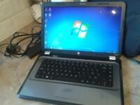 LAPTOP HP G6 DUAL CORE CPU,GWO.HDMI,WEBCAM,4GB RAM.500GB HD,WINDOWS 7+OFFICE 2010,CHARGER,+ DELIVERY