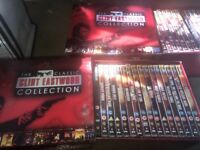 Clint Eastwood box set collection and Magazines