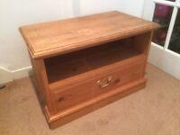 Solid Pine TV Cabinet - NOT FLATPACK