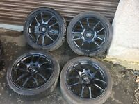 "Rota torques alloys 17"" 5x114"