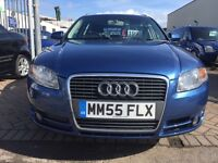 2005 55 AUDI A4 2.0 TDI 140 BHP ESTATE CAR IN IMMACULATE CONDITION AND THE DRIVE IS SUPERB FULL SERV