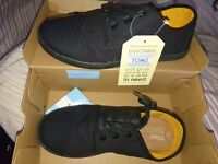 Brand New Toms Shoes - Black - Size 4 (37.5)