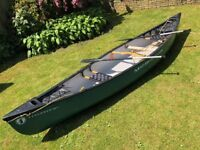 Mad River 14TT Canadian style canoe Kayak package