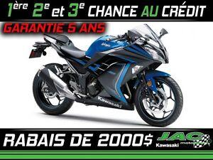 2015 Kawasaki Ninja 300 ABS SE 22.12$/SEMAINE