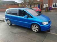 Vauxhall zafira gsi 7 seater