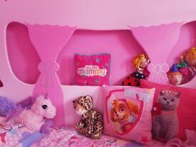 Princess carriage toddler bed handmade