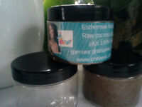Dry or damaged hair? Get Raw 100% Chebe powder, raw extra virgin coconut oil/peppermint on sale
