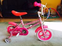 Girls first bike