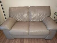 3 & 2 seater sofa with foot stool.