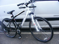"19"" frame CARRERA HYBRID 700c WHEEL BIKE in great working order"