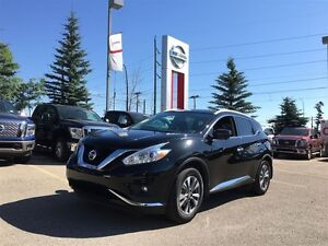 2016 Nissan Murano SL AWD LOW KM'S! LEATHER BLIND-SPOT WARNING