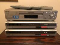 Sony hdr/dvd recorder x2