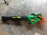 Powerful electric leaf blower