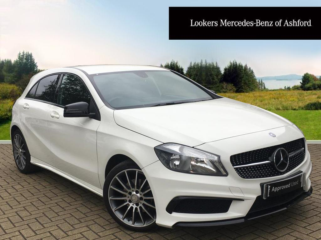 mercedes benz a class a180 cdi blueefficiency amg sport white 2015 03 31 in ashford kent. Black Bedroom Furniture Sets. Home Design Ideas