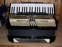 Horner Atlantic Musette, 4 Voice, Musette Tuned, 120 Bass, Piano Accordion.
