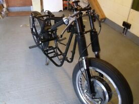 BSA A7/A10 ROLLING CHASSIS WITH V5c