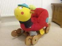 Mamas and Papas Musical Rock and Ride Lotty Ladybird. Good clean condition.