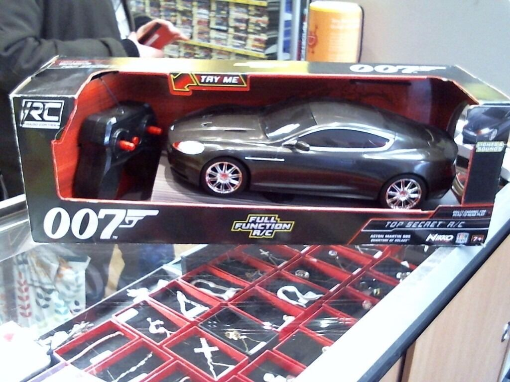 007 RC CARin FalkirkGumtree - RC CAR ASTON MARTIN DBS 007 EDITION COMES NEW IN BOX GOOD CONDITION COMES WITH A FULL 6 MONTHS WARRANTY REF 132597 IF YOU ARE INTERESTED IN BUYING THIS ITEM OR WOULD LIKE ANY MORE INFORMATION, GIVE ME A CALL ON 01324 670371 AND ASK FOR CHARLOTTE, ILL...