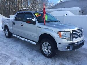 2012 Ford F-150 XLT SUPER CREW XTR PACKAGE
