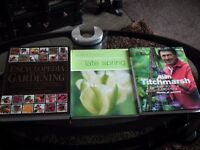 Brand new gardening books bundle RRP: £69.99 Spring, Alan Titchmarsh, Encyclopedia