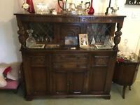 Old Oak Charm Sideboard
