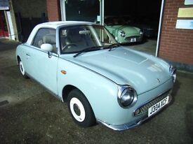 NISSAN FIGARO IN AQUA BLUE