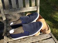 Mens Blues Suede shoes Size 9