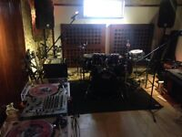 Monthly Share Slots Music Studio B - Production - Recording - Rehearsal - Practice - Songwriting