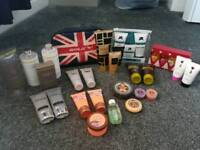 Unopened gift sets
