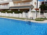 Las Dunas Javea holiday rental apartment, pool, beach, Arenal, Xabia, Costa Blanca Spain
