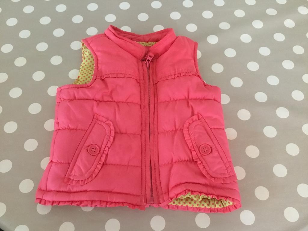 12-18 Month Gilet Pink Baby Coats, Jackets & Snowsuits