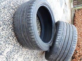 255-40 R 18 Bridgestone Potenza tyres