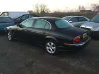 2001 Jaguar s type 3.0 litre Automaticin lovely all round condition mot sat nav fully loaded car