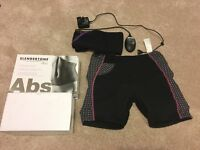 Slendertone Abs belt & shorts - boxed & in superb condition