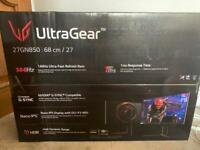 LG UltraGear Gaming monitor 144hz 4K Ultra HD