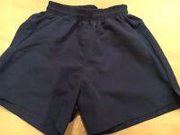 Royal blue swim shorts size JS