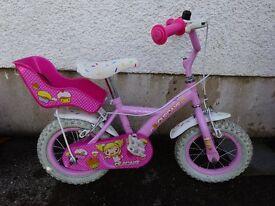 "Girls' Apollo 12"" bike"