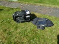 Motocycle tank bag