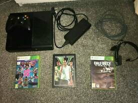 Latest 250gb xbox 360 with 3 games