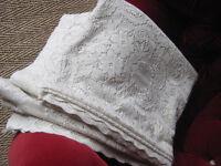 Vintage Lace Curtain Large