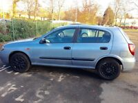 Automatic Nissan Almera 4 Door Just moted last Month Winter Tyers replaced Mot 25 November 2017