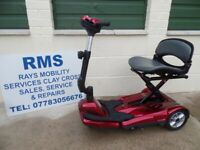 Mobility Scooter Drive Auto-Fold-Up Easy-Move 4mph Car Boot scooter