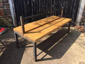 Double side garden /sports bench £125