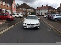 2012 White BMW 320d Dynamic Efficients. ��30/year road tax. Offers accepted.