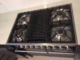 Britannia Sigma Cooker Oven: Twin Oven with Chef Top Grill 90cm