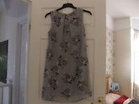 Atmosphere Pretty Grey Dress Size 10