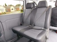 Double rear van seats from Mercedes Vito, (quick release seats)