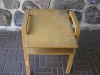 VINTAGE - TABLE BASSE ANCIENNE EN BOIS FRANC - MEUBLES ANTIQUES