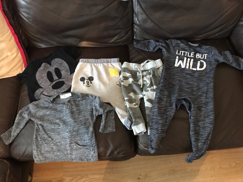 Next Boys clothes 9-12 months